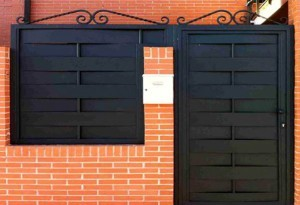 puertas de forja madrid exterior