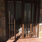 montaje de rejas y puertas modelo inglés