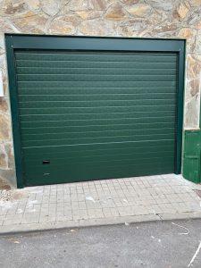 instalación puerta de garaje