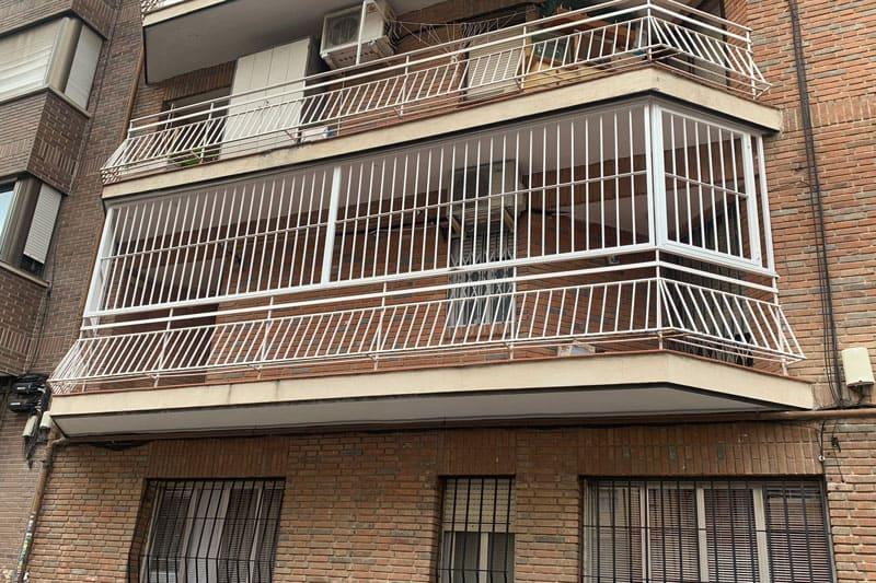cerramiento de terraza en Madrid